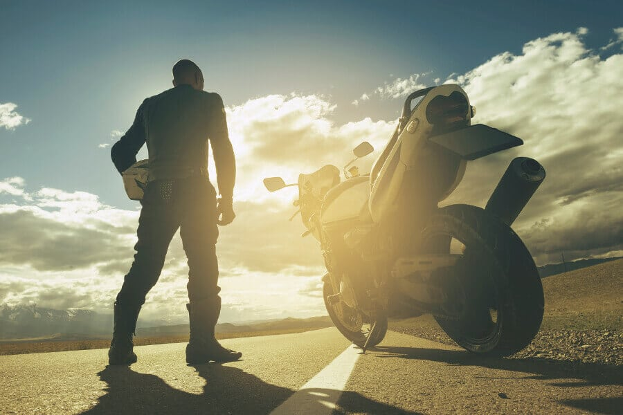 Motorcycle insurance photo