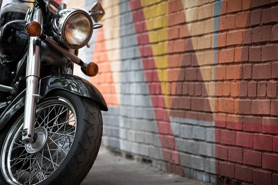 Big Black Motorbike